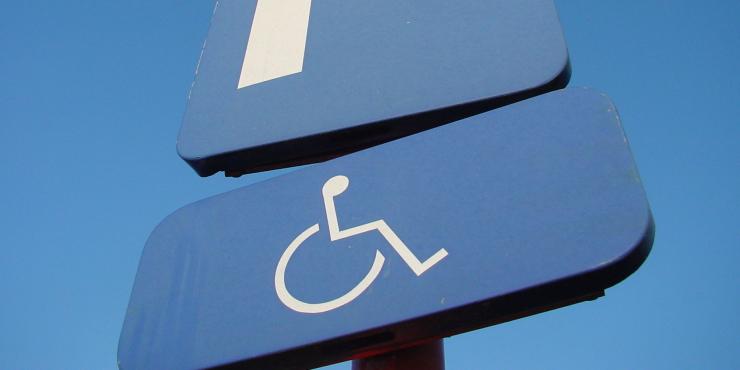 Parkeerkaart voor personen met een handicap